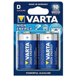 Varta High Energy D im 2er-Pack